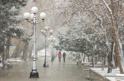 зима в Евпатории