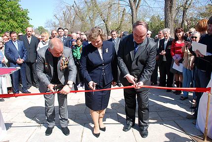 открытие музея Чернобылю в Евпатории