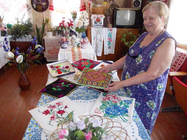 Вышивка для пожилых людей 80